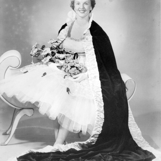 Nancy Richardson Simmons - Miss Buna 1957